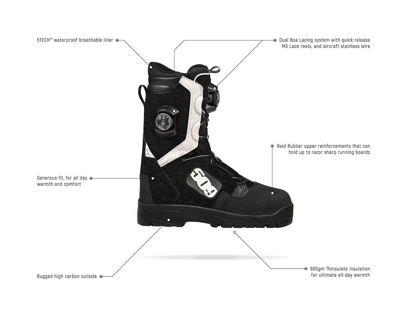 509 Raid Boa Boot