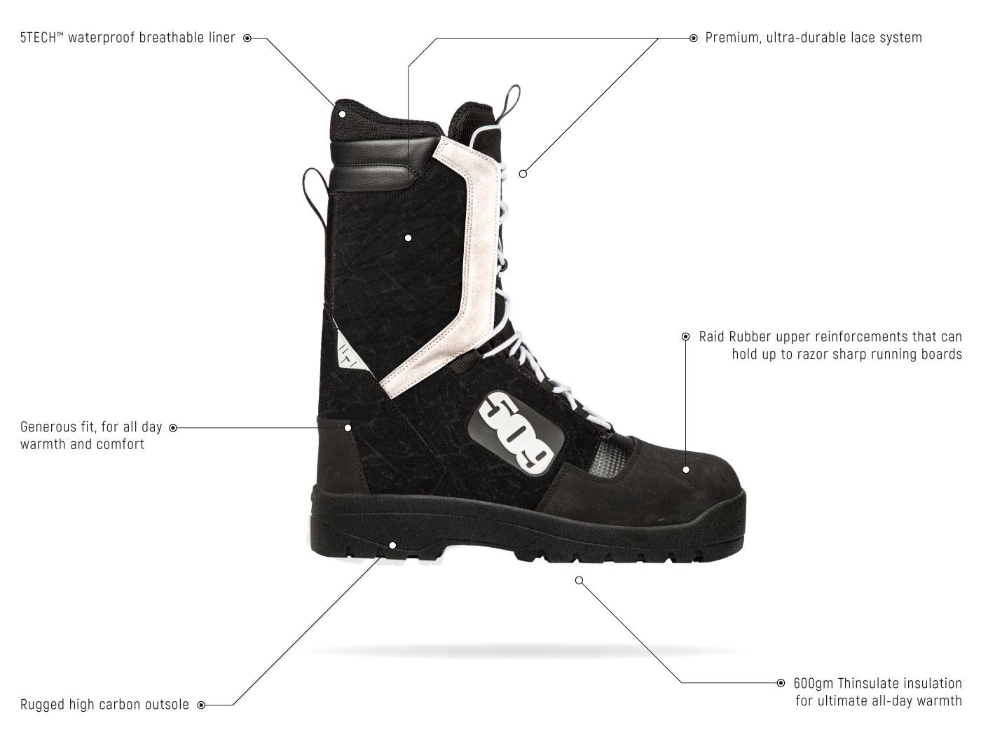 509 Raid Laced Boot