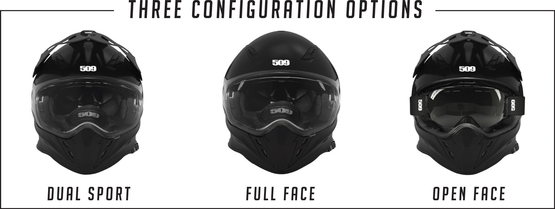 509 Delta R3 Offroad Helmet