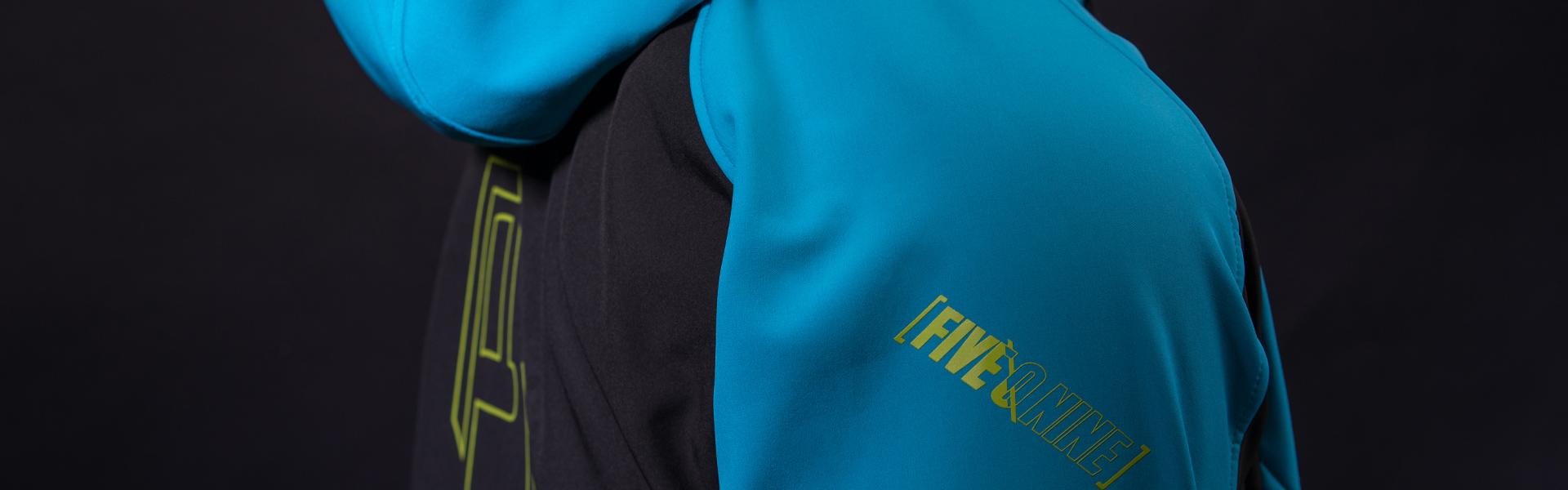 509 Blue Hi-Vis Tactical Elite Softshell Jacket