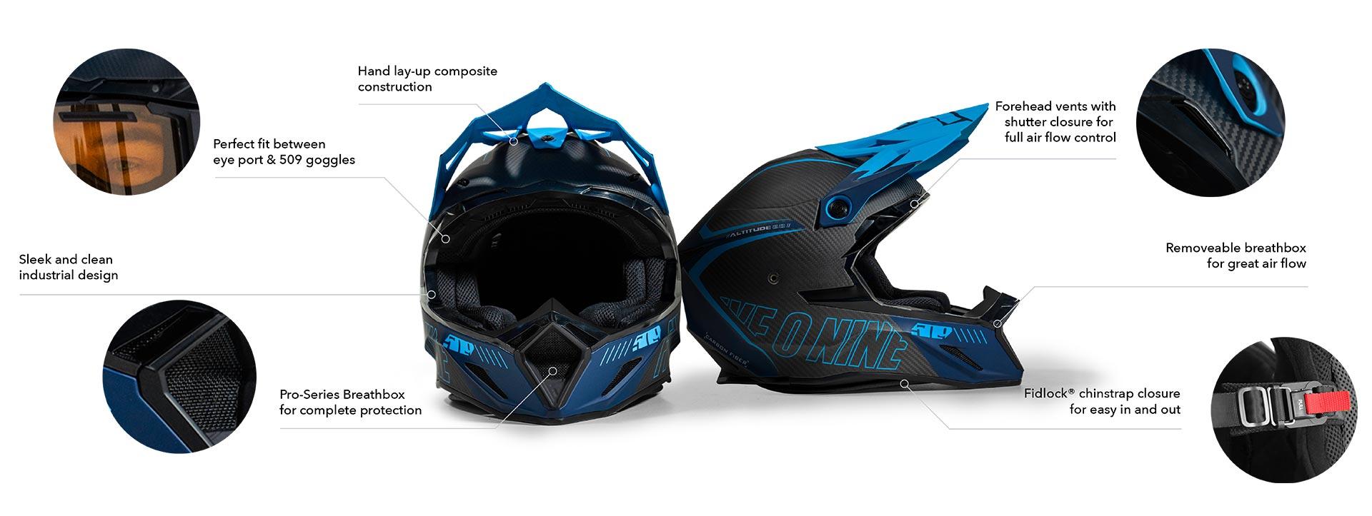 509 Altitude 2 Helmet
